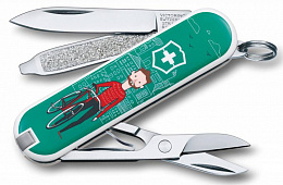 Нож Victorinox 0.6223.L1508 Classic LE 2015 «Ridy your Bike» (58mm)